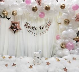 Twinkle Twinkle Party Setup