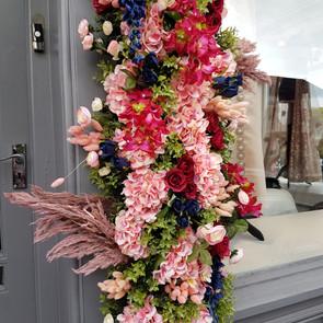 Flower Window Installation