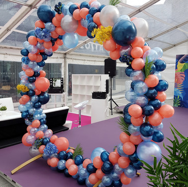 Circular Balloon Arch 1