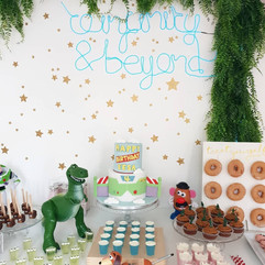 Toy Story Themed Party Decor