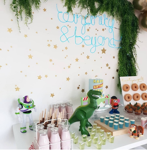 Toy Story Birthday Party Dessert Table