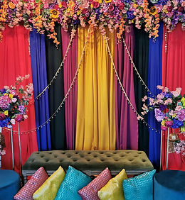 Colourful Mehdni Stage