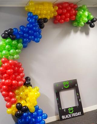 Super Mario Mini Balloon Arch