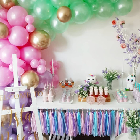 Unicorn Birthday Party Decor