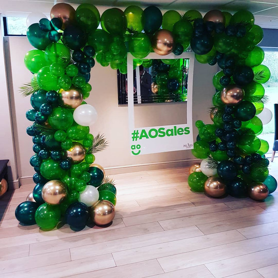 Corporate Event Balloon Arch 1