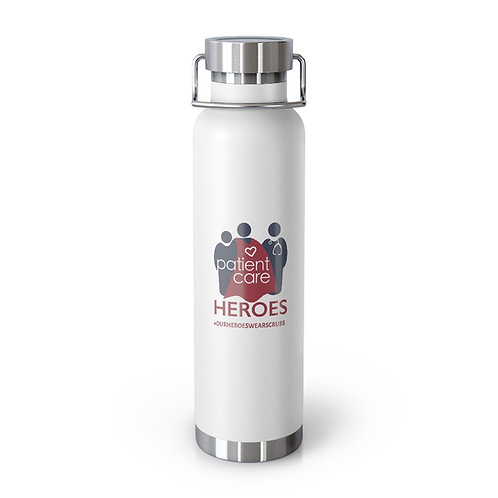 Patient Care Heroes Logo 22oz Vacuum Insulated Bottle