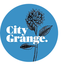 Logo, City Grange Logo, Logo Design, Branding, Brand Identity, Graphic Design, Tagline, Copywriting, Brand Narrative, Key Messaging, Marketing, Branding, Digital Design, Digital Advertising, Social Media Marketing, Social Media, Garden Supply, Startup
