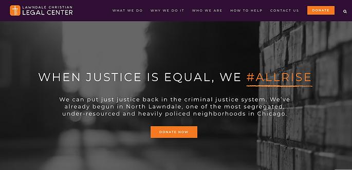 Lawndale Christian Legal Center Website.