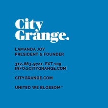 Logo, City Grange Logo, Logo Design, Branding, Brand Identity, Graphic Design, Tagline, Copywriting, Brand Narrative, Key Messaging, Marketing, Branding, Digital Design, Digital Advertising, Social Media Marketing, Social Media, Garden Supply, Startup, Business Cards