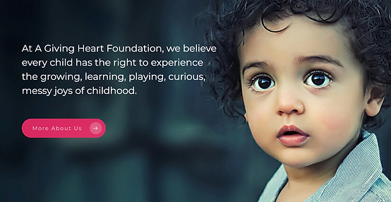 A Giving Heart Foundation Website About