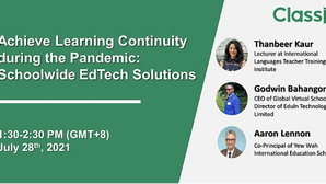 Webinar Recap: Achieve Learning Continuity during the Pandemic