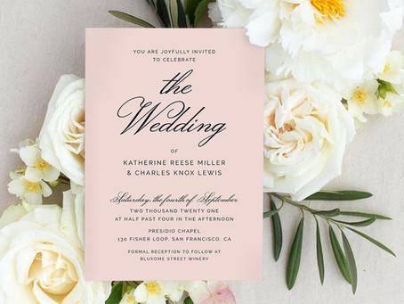 How Many Wedding Invitations Do You Really Need?
