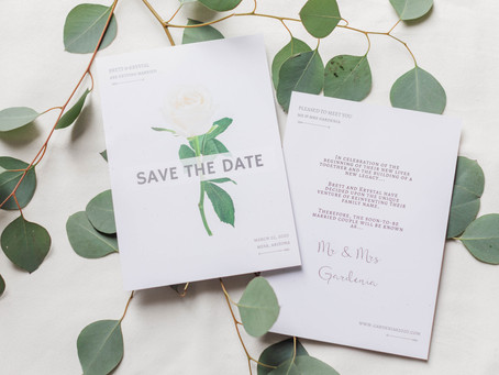Difference Between Save-the-Dates and Formal Invitations