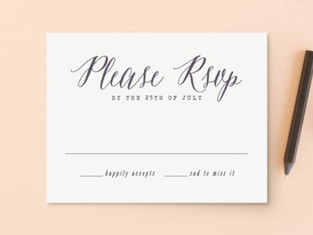 When to set your RSVP deadline