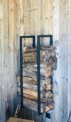 Rangement bois sur mesure