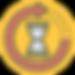 Hourglass Icon on Yellow