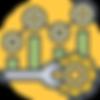 Sontai Dashboard Optimisation Icon on Yellow