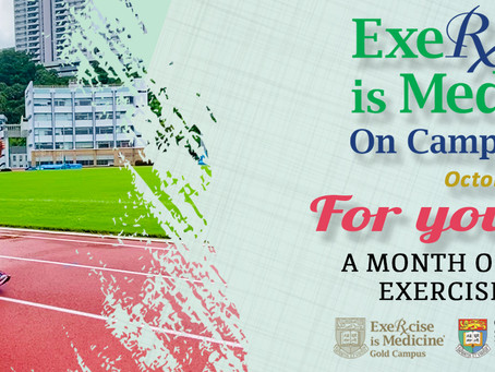 "Exercise is Medicine on Campus Month ""For your Heart"" completed"