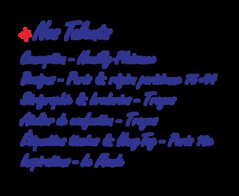 Legende carte de France nos talents Made