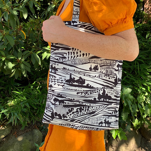 Abstract Landscape Tote