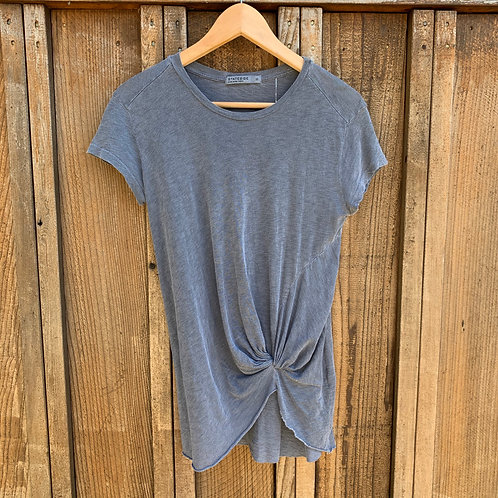 Supima Cotton Knotted Tee