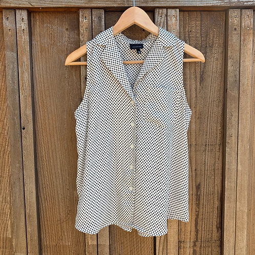 Dotted Woven Tank