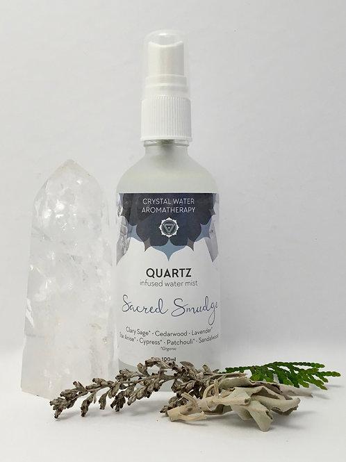 Sacred Smudge Quartz Mist