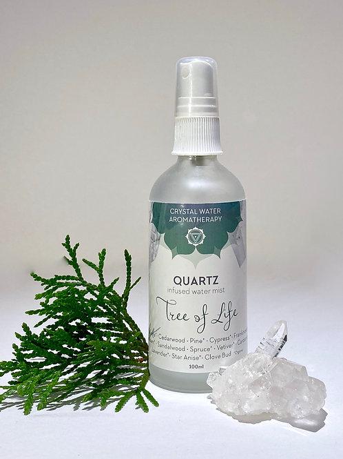 Tree of Life with Quartz mist