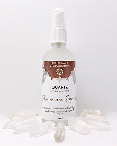 Shamanic Spirit with Quartz