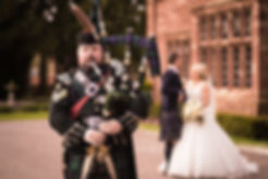 Andrew Brian Highland Bagpiper Wedding bagpiper for hire