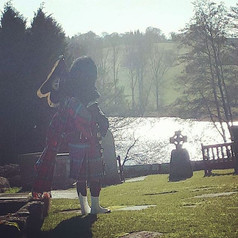 A few pictures from yesterdays wedding a