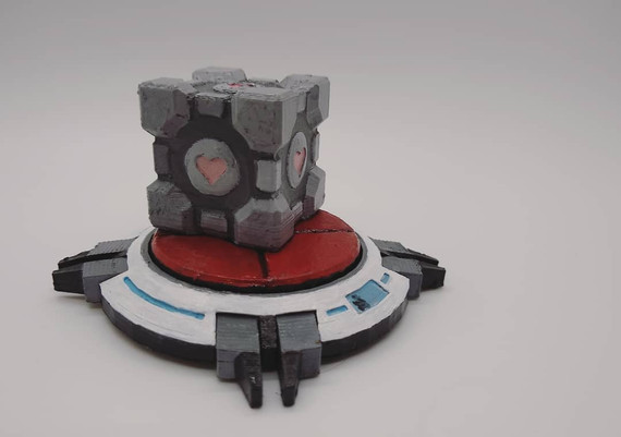 Weighted Compoanion Cube and Heavy Duty Super-Colliding Super Button