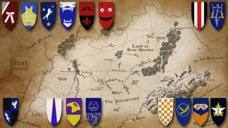 Fantasy Football Map - KY/TN