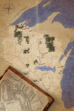 Hazelwood Academy Map