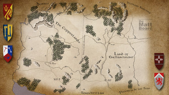 Fantasy Football Map - AZ/NM