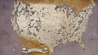 Fantasy Football Map