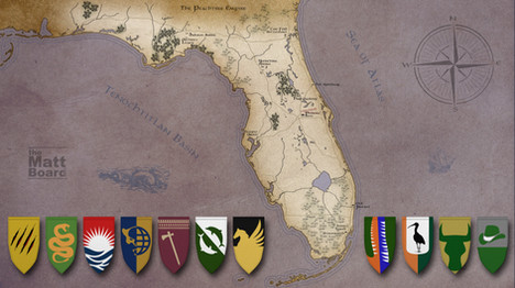 Fantasy Football Map - FL