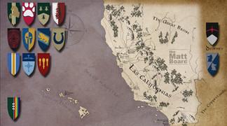Fantasy Football Map: California and Nevada