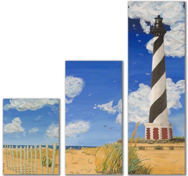 Lighthouse Triptych