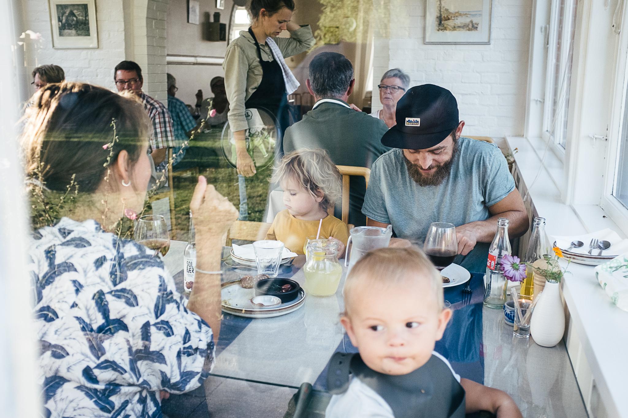 Aftensmåltidet på Langebjerg