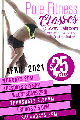 Copy of Pole Fitness Poster - Made with