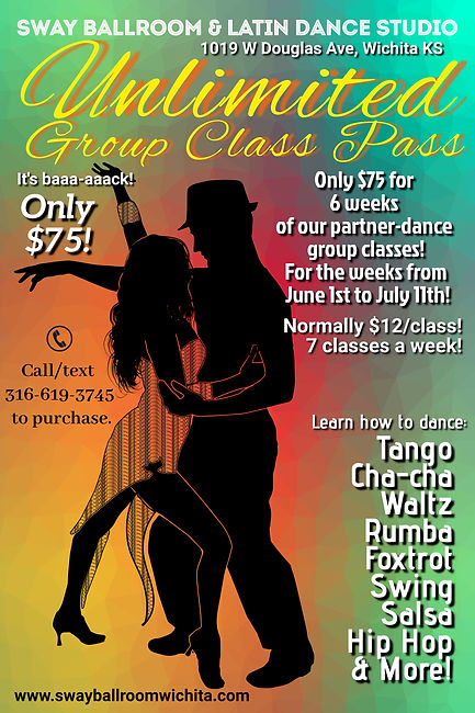 Copy of Ballroom dancing classes templat