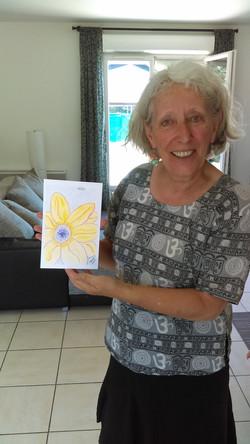 Shemwell, Helen with art