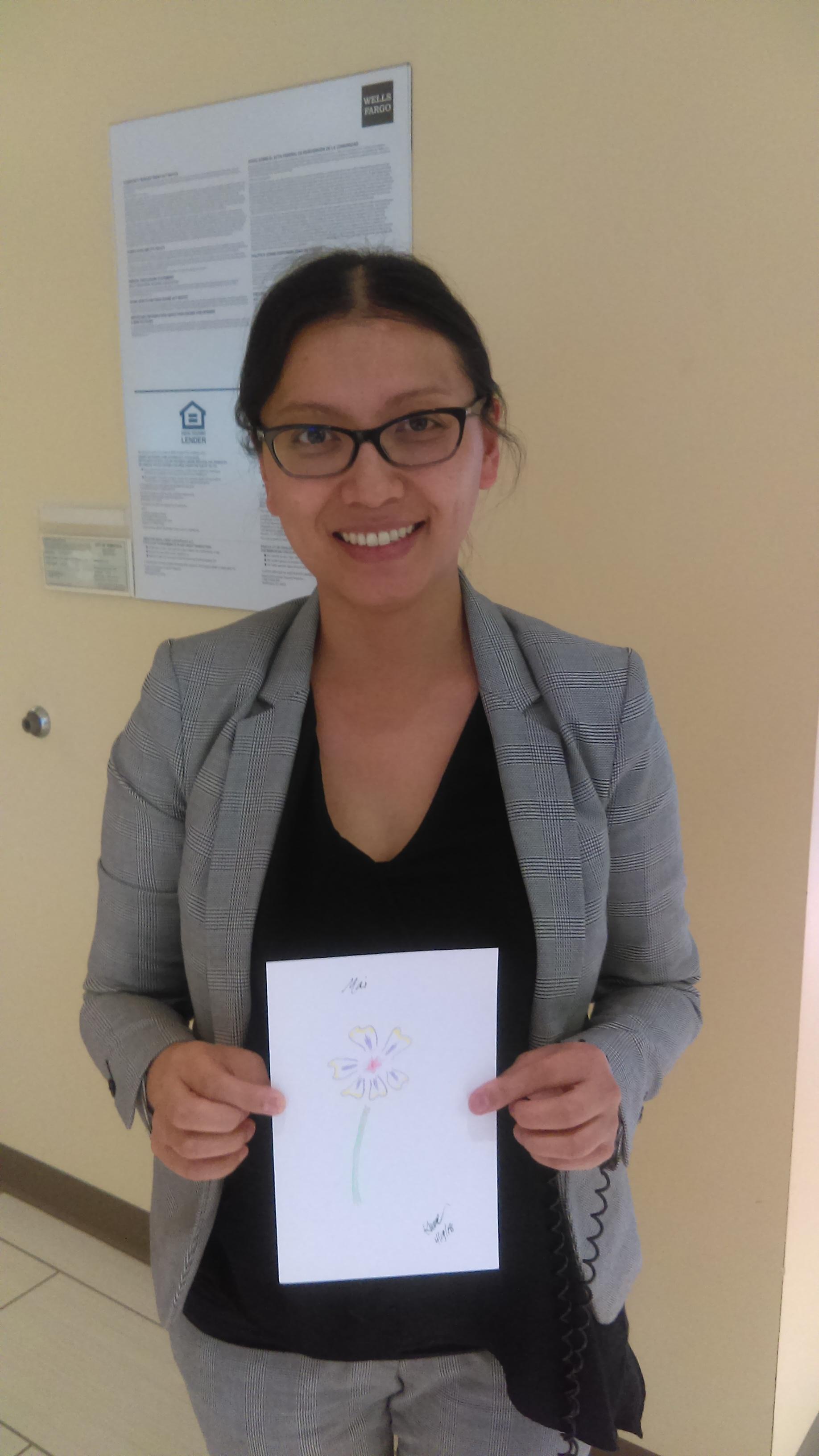 Mai with Art