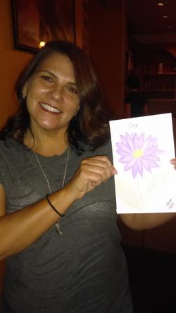 Millar, Lisa with Art