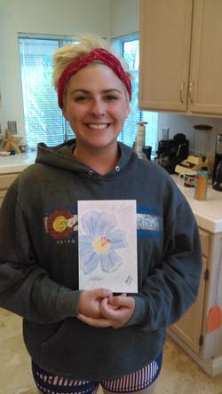 Josupeit, Jennifer with Art