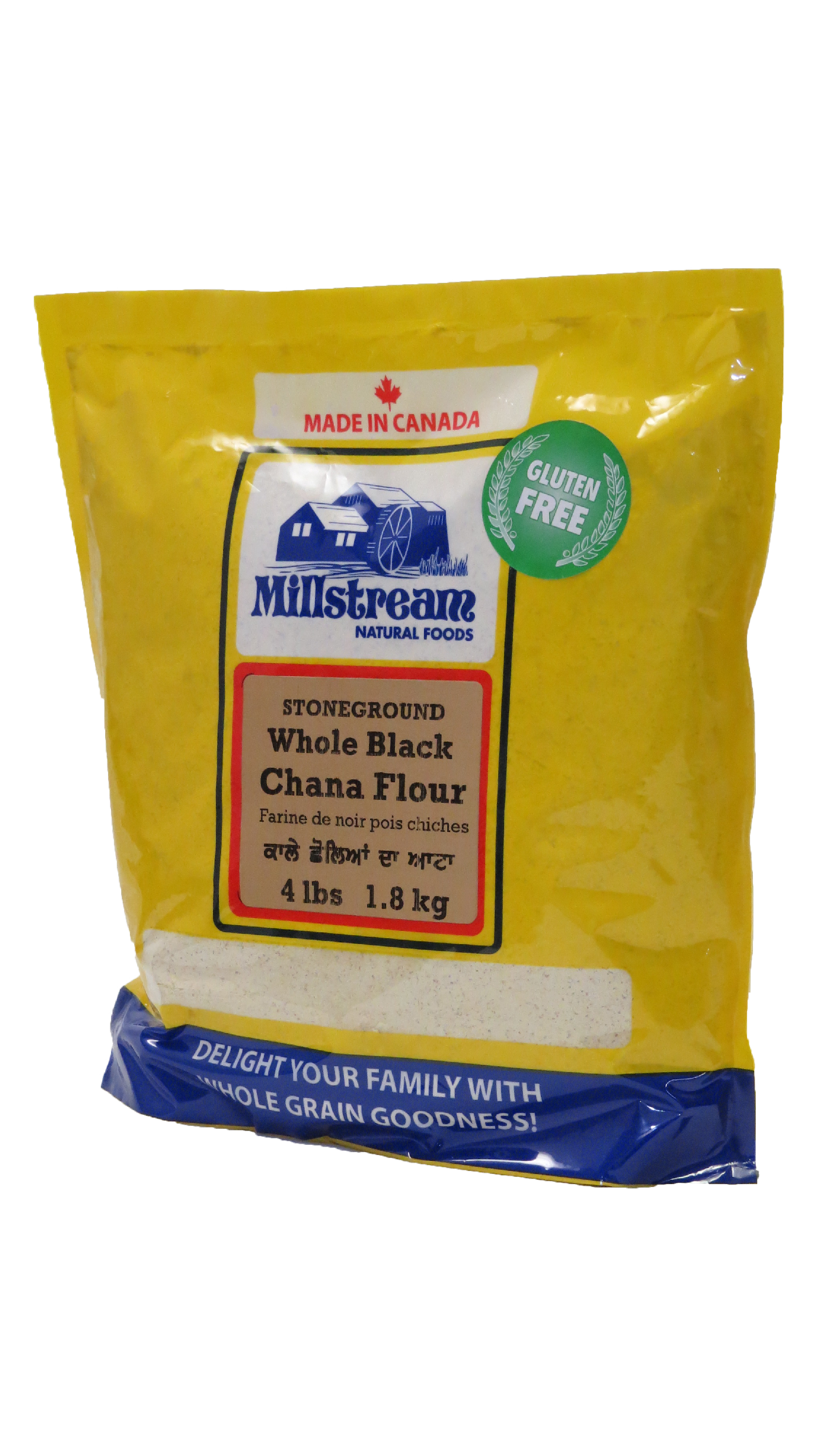 Whole Black Chana Flour
