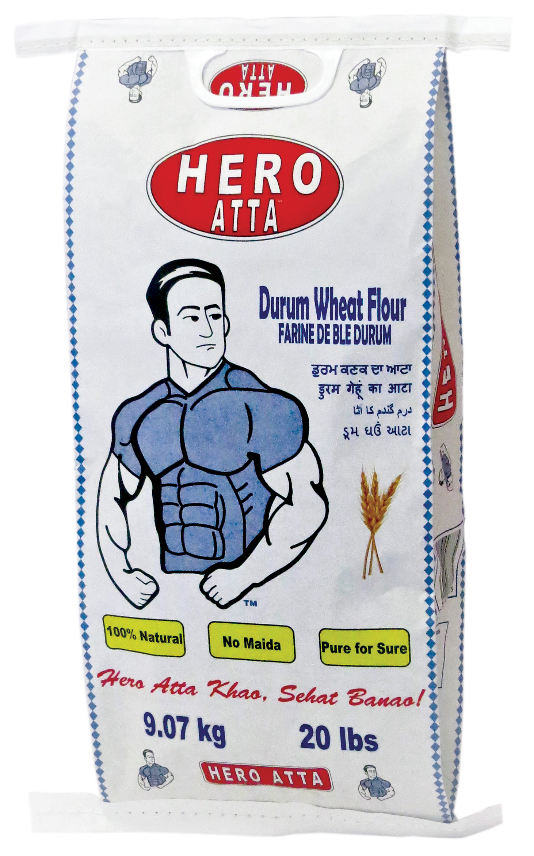 Hero Atta Flour 20LB