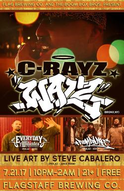 7-21-17 (C-Rayz & Everyday Affiliates)