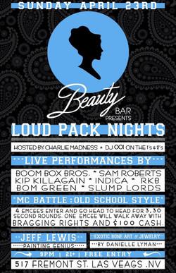 4-23-17 (Loud Pack Nights)